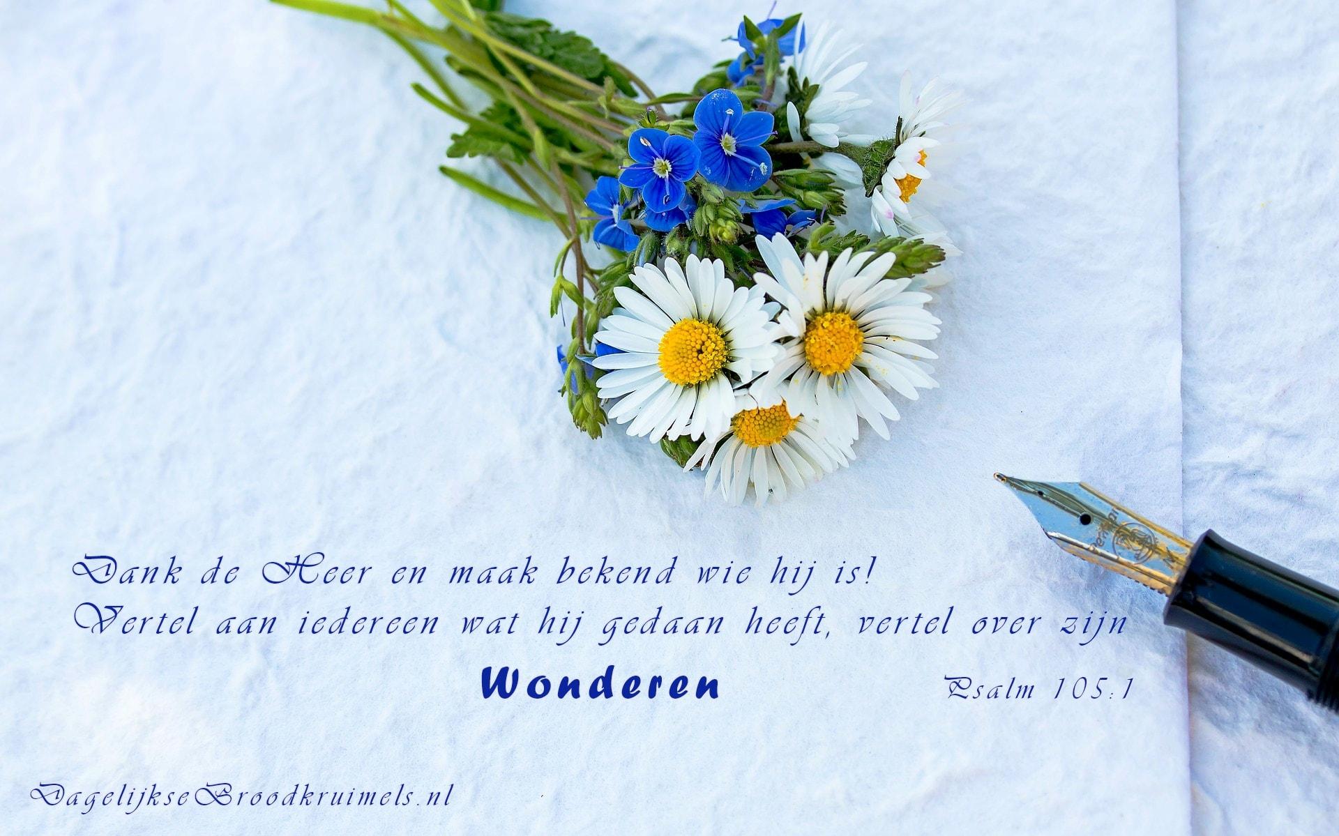 Psalm 105 vers 1