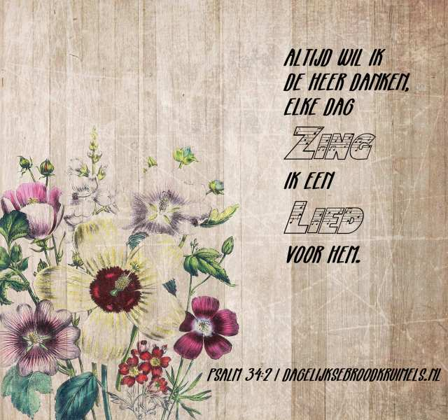 Psalm 34 vers 2