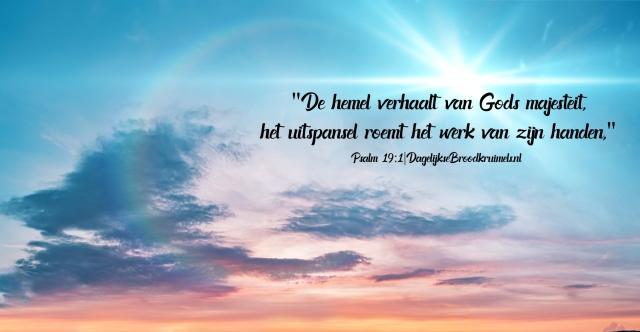 psalm 19 vers 1